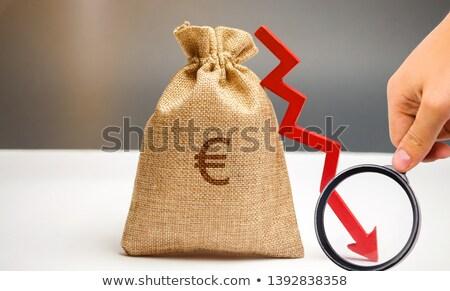 európai · hanyatlás · illusztráció · trendek · szövetség · Euro - stock fotó © lightsource