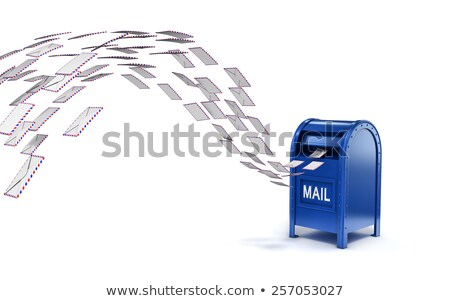 Mailbox with flying letters Stock photo © magraphics