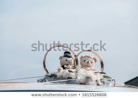 свадьба украшение игрушку несут кольцами конфеты Сток-фото © AndreyCherkasov