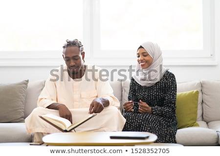Arabic Muslim man and woman stock photo © zurijeta