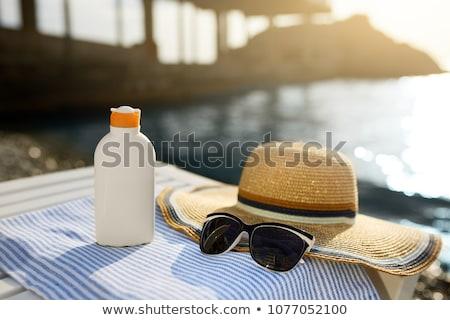 sun protection on the beach Stock photo © adrenalina