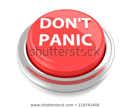 Don't panic word Stock photo © fuzzbones0