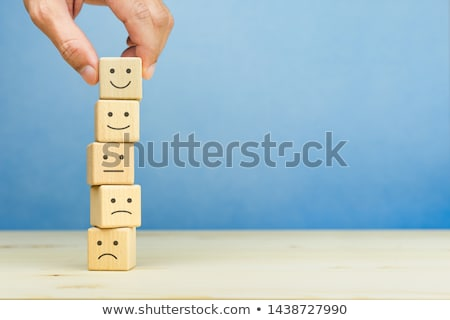 Réaction table en bois mot bureau mode enfant Photo stock © fuzzbones0