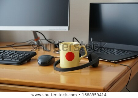 Laptop with external display Stock photo © karandaev