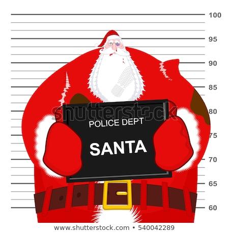 человека · костюм · Дед · Мороз · сумку · Рождества · праздников - Сток-фото © maryvalery