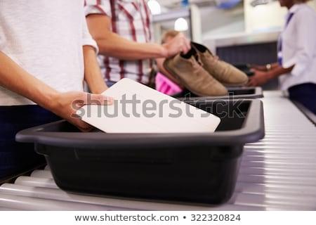 airport security scanner stock photo © adrenalina
