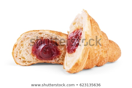 jam filled butter croissants Stock photo © Digifoodstock