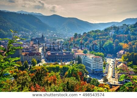 Brasov cityscape, Romania Stock photo © joyr