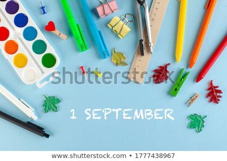jour · école · faible · étudiant · posant - photo stock © hsfelix