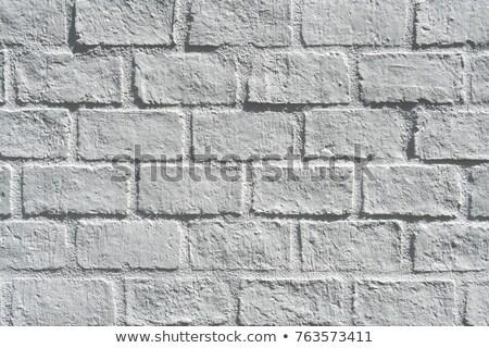 Pizarra blanco ladrillo negro vacío tiza Foto stock © romvo
