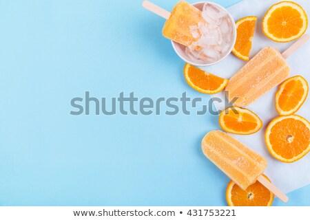 popsicle orange Stock photo © M-studio