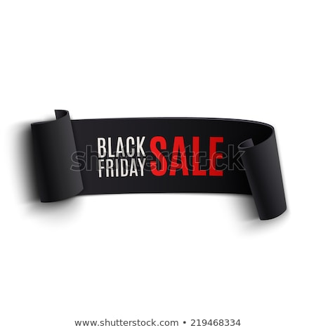 3D · style · black · friday · vente · élément · design - photo stock © molaruso