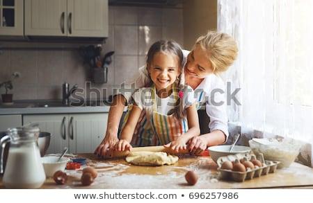 ребенка весело улыбаясь свежие питание Сток-фото © IS2