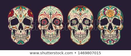 skull design stock photo © krisdog