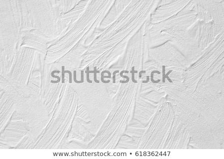 cracked oil paint on wood surface stock photo © taviphoto