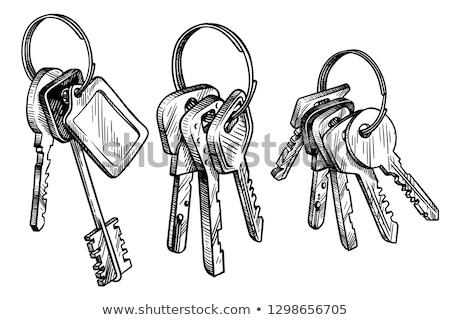 дома · ключевые · домой · двери · безопасности · рынке - Сток-фото © rastudio