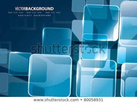 抽象的な · キューブ · デザイン · 科学 · マーケティング · 広告 - ストックフォト © artjazz