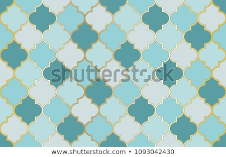 vector seamless Moroccan mosaic pattern Stock photo © freesoulproduction