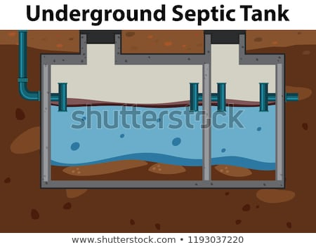 An underground septic tank Stock photo © colematt