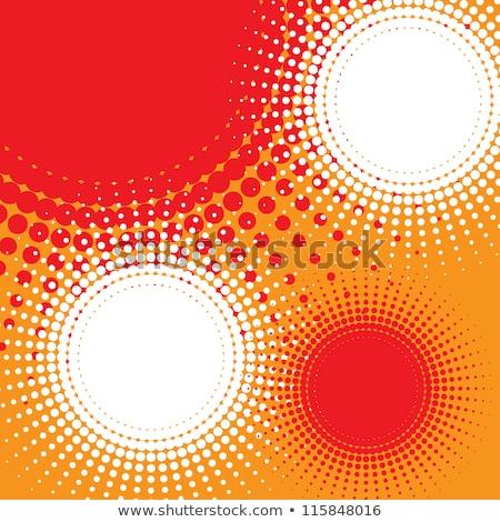 Soyut turuncu yarım ton arka plan bağbozumu Stok fotoğraf © SArts