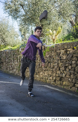 Angry man throwing a temper tantrum Stock photo © Giulio_Fornasar