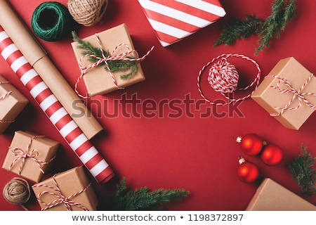 Stockfoto: Inpakpapier · decoratie · onherkenbaar · vrouw · schort
