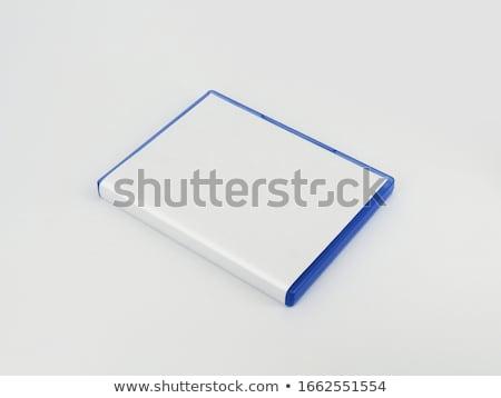 kutu · ayarlamak · disk · cd · yalıtılmış · beyaz - stok fotoğraf © cidepix