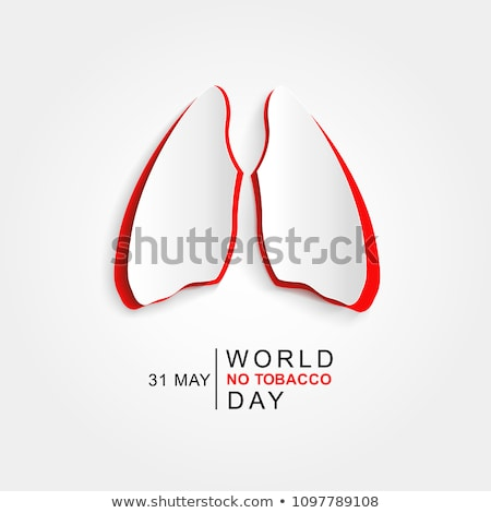 world no tobacco day colorful vector illustration stock photo © robuart