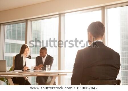 Grupo diverso pessoas de negócios espera negócio Foto stock © wavebreak_media