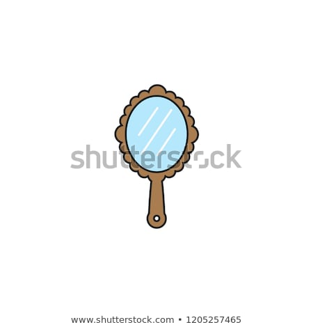 древних стороны зеркало белый моде кадр Сток-фото © nuttakit