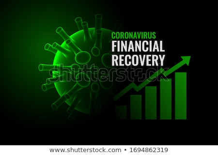 financial growth and recovery after coronavirus cure Stock photo © SArts