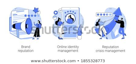 Crisis gestión resumen marca mantenimiento Foto stock © RAStudio