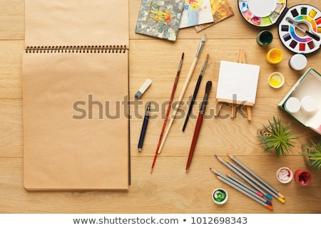 Stationery for Work, Creativity and Painting Stock photo © robuart