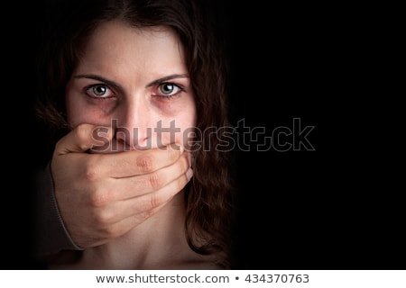 Man harassing woman. Stock photo © iofoto