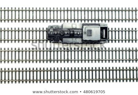 miniature railway isolated stock photo © sahua