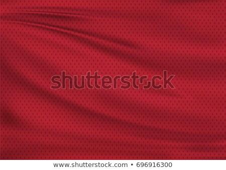 piros · vászon · textúra · közelkép · kilátás · szövet - stock fotó © paha_l