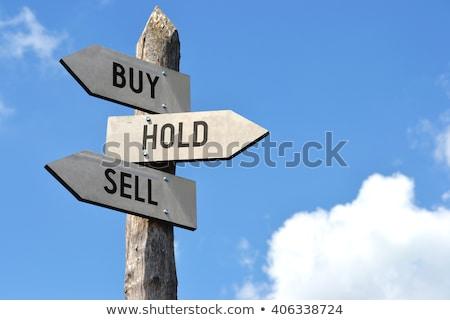 Satın almak satmak fincan tablet Stok fotoğraf © pkdinkar