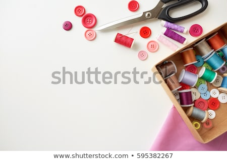 Nesneler düğmeler büyük pastel Stok fotoğraf © Dizski