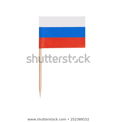 Miniature Flag of Russia (Isolated) stock photo © bosphorus
