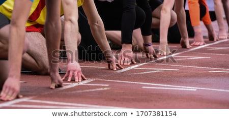 красный спорт белый текстуры фон Сток-фото © vaximilian