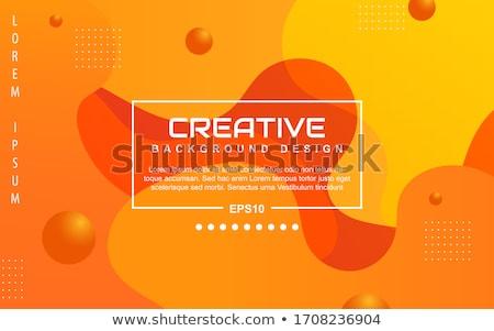 abstrato · laranja · projeto · luz · fundo · papel · de · parede - foto stock © oconner