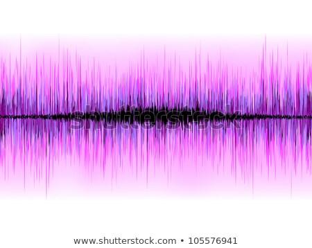 звук · волны · свечение · свет · прибыль · на · акцию · вектора - Сток-фото © beholdereye