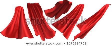 Held Rood vrouw stijl tshirt Stockfoto © cboswell