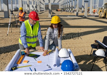 Young surveyor Stock photo © photography33