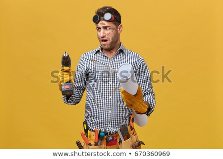 craftsman looking furious Stock photo © photography33