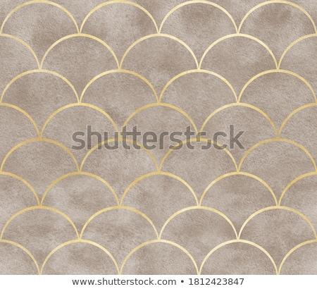 Golden fabric Stock photo © Nneirda