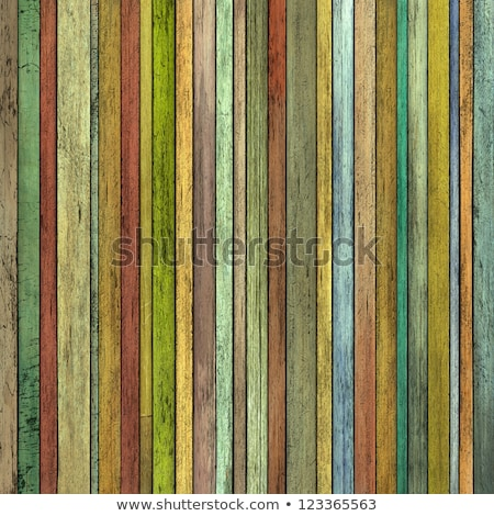 abstract 3d grunge render colored wood timber plank backdrop Stock photo © Melvin07