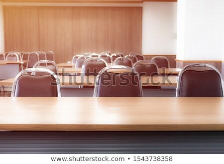 Empty lecture theater stock photo © paulwongkwan