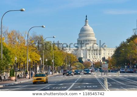 Washington · Monument · centro · Washington · DC · cidade · estrelas · azul - foto stock © meinzahn