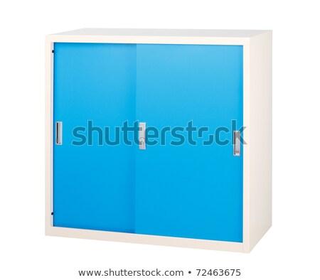 Faliszekrény széf összes egyéb fontos iroda Stock fotó © JohnKasawa